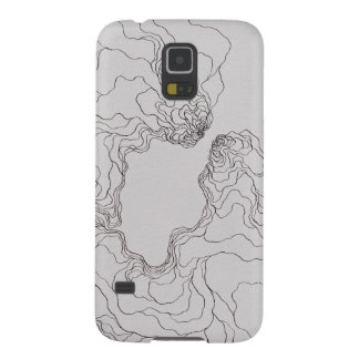 Beginners (topographic) Katie Case For Galaxy S5