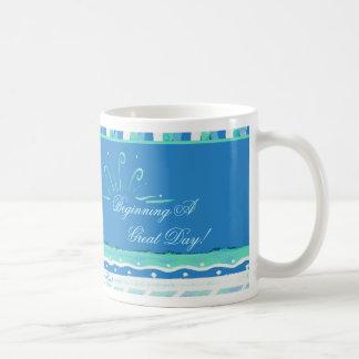 Beginning A Great Day! Mug