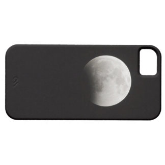 Beginning of a Total Eclipse of the Moon iPhone 5 Cases