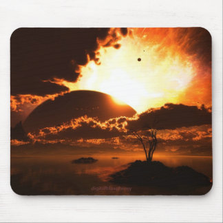Beginning Of The End Mousepad