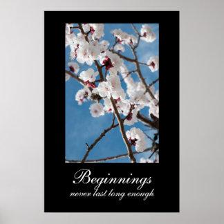 Beginnings Demotivational Poster