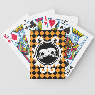 Begird Ebony (Orange) Playing Cards