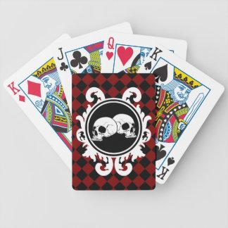 Begird Ebony (Red) Playing Cards