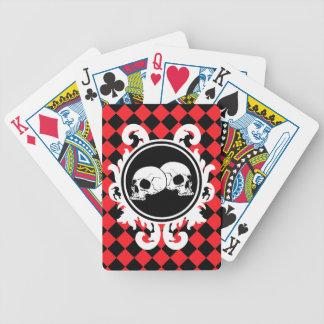 Begird Ebony Ruby Playing Cards