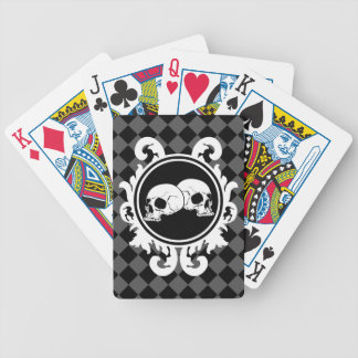 Begird Ebony (Smoke) Playing Cards