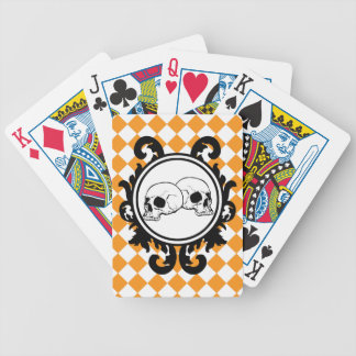Begird Ivory (Orange) Playing Cards
