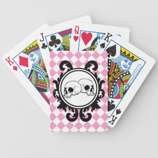 Begird Ivory (Pink) Playing Cards