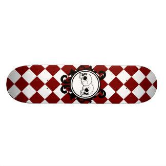 Begird Ivory (Red) Skateboard Deck