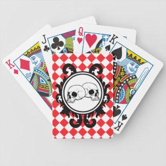 Begird Ivory Ruby Playing Cards