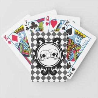 Begird Ivory (Smoke) Playing Cards