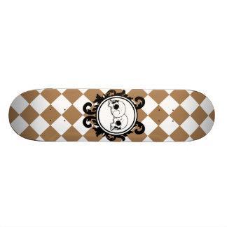Begird Ivory (Tan) Skateboard Deck