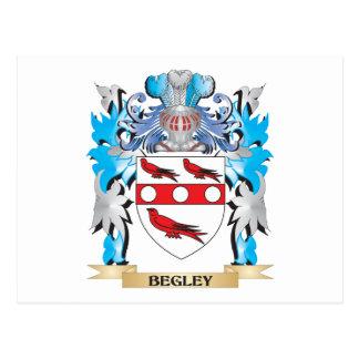 Begley Coat of Arms Postcard
