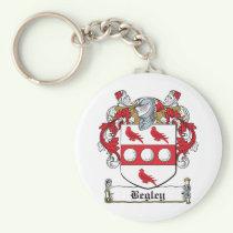 Begley Family Crest Keychain