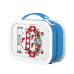 Begley Family Crest Lunchboxes