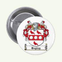 Begley Family Crest Button