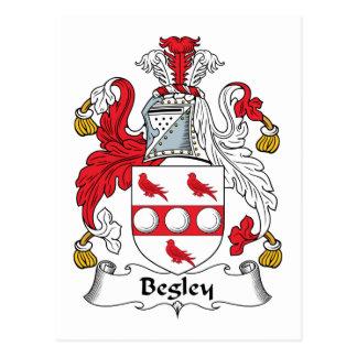 Begley Family Crest Postcards