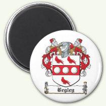 Begley Family Crest Magnet