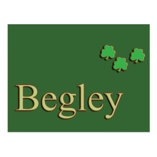 Begley Family Name Post Cards