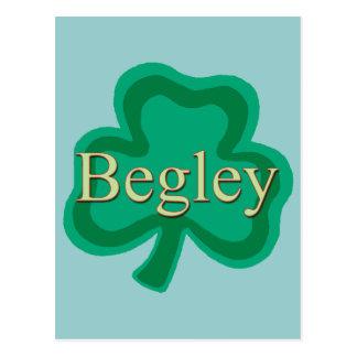 Begley Family Post Cards