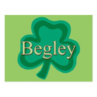 Begley Family Postcard