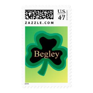 Begley Shamrock US Stamp