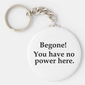 Begone! Key Chains