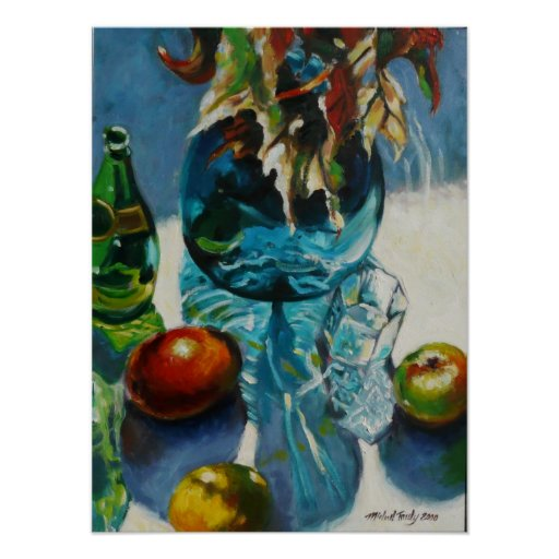 Begonia con la fruta impresiones