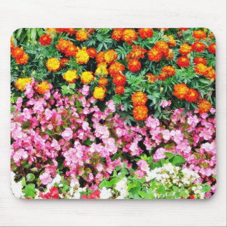 Begonia French Marigold Mouse Pad