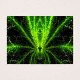 Begonia Leaf Abstract ATC Business Card