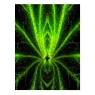 Begonia Leaf Abstract Postcard