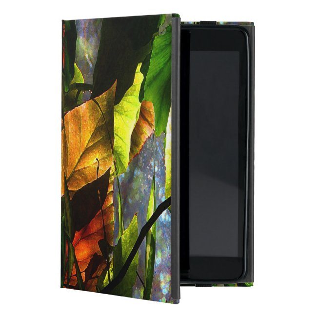 Begonia Leaves Abstract iPad Mini Case