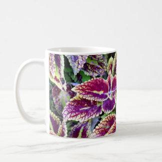 Begonia Leaves Coffee Mug