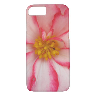 Begonia Red White Flower Bloom iPhone 8/7 Case