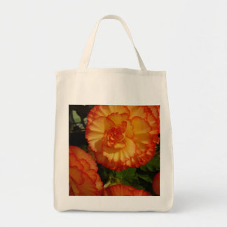 Begonia Series Grocery Tote Bag