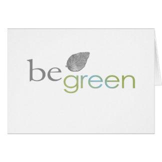 beGreen Card