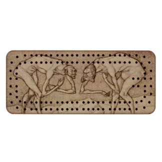 Begruessung Wood Cribbage Board