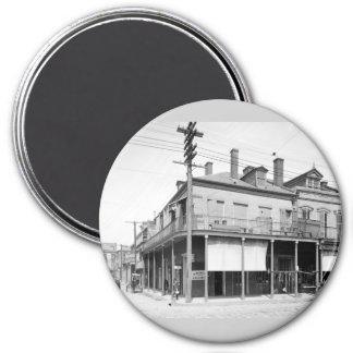 Begue's Exchange, New Orleans: 1900 3 Inch Round Magnet