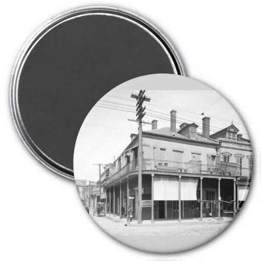 Begue's Exchange, New Orleans: 1900 Fridge Magnets