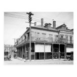Begue's Exchange, New Orleans: 1900 Postcard