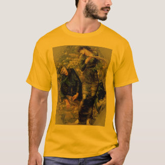 Beguiling Merlin Medieval-art T-shirts