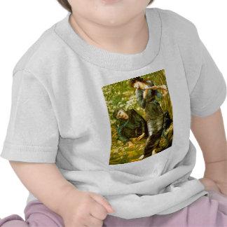 Beguiling of Merlin Burne-Jones 1874 Painting Shirt
