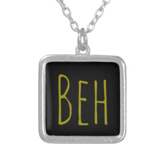 Beh Silver Plated Necklace