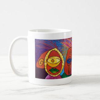 behave old man ! coffee mug
