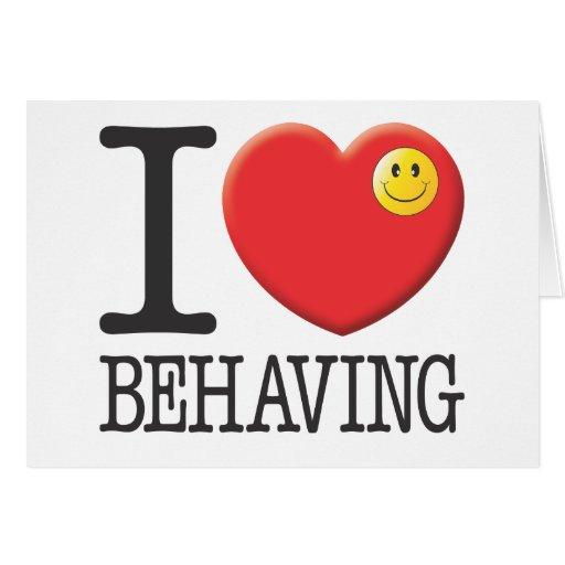 Behaving Cards