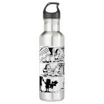 Behavior Is The Truth Steel Water Bottle