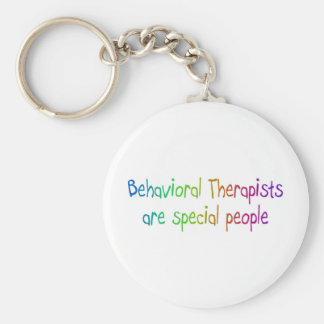 Behavioral Therapists Are Special People Basic Round Button Keychain