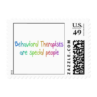 Behavioral Therapists Are Special People Postage Stamp