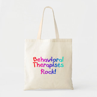 Behavioral Therapists Rock Canvas Bag