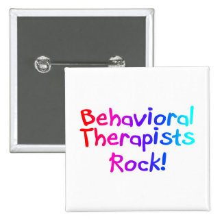 Behavioral Therapists Rock Pin