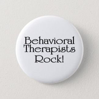Behavioral Therapists Rock Button